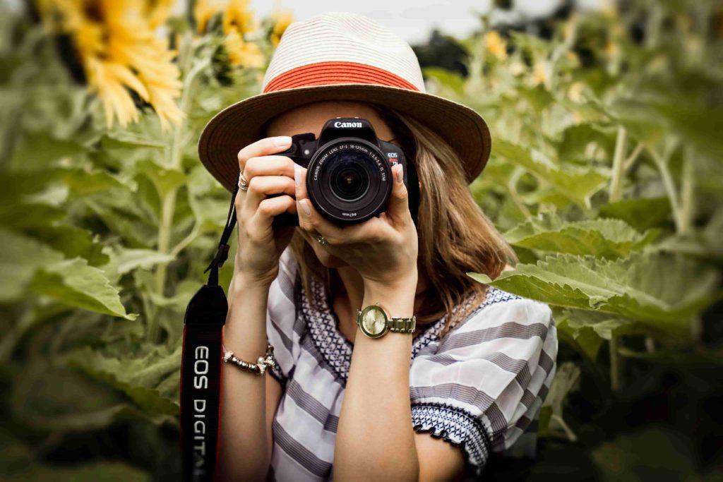 Optimierung der Seite für Fotografen